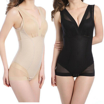 Women's Full Body Shaper BodySuit Corset Slimming Shapewear Tummy Waist Cincher