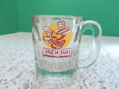 "Vintage ""Dog N Suds"" Drive In Root Beer Mug"