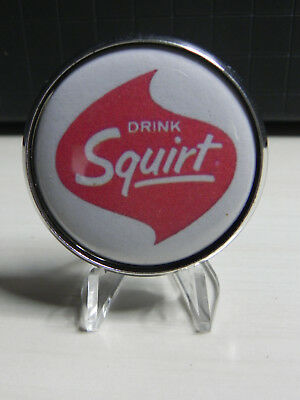 Squirt Soda 1950's Badge From Fountain Pull Handle Unique and Rare