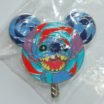 Disney Pin Hong Kong HKDL 2017 Lollipop Mystery Tin Stitch  Disneyland Rare New