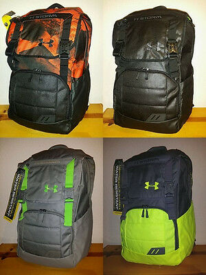 d6ecf8296d NEW UNDER Armour Ruckus Backpack Rucksack Laptop Fits 17