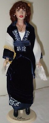 Franklin Mint - Titanic - Rose Flying - Outfit