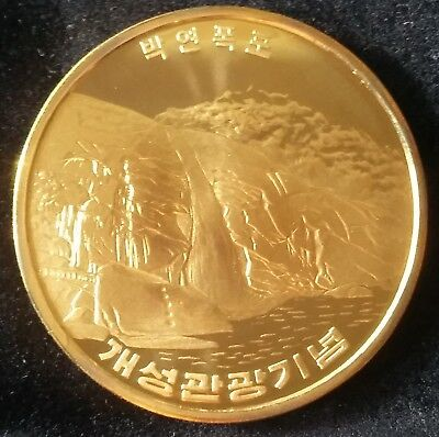 2010 Korea, 10 Won, Kaesong Tourism-3, Proof, Scarce !!