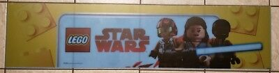 Toys R Us LEGO Star Wars  Valance Display Signs RARE