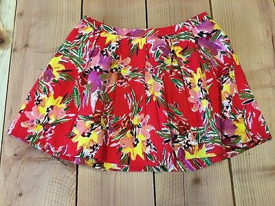 f841dc5cd8e WOMEN S FOREVER 21 Black Floral Summer Skirt Plus Size OX Pleated ...
