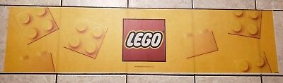 Toys R Us LEGO Valance Display Signs RARE