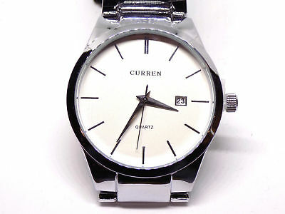 CURREN Mens Luxury Brand Fashion Business Calendar Wristwatch Casual NWT 2018