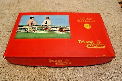 Tri-ang RHX Set Complete Boxed with serviced running Loco TRIANG RAILWAYS 1956