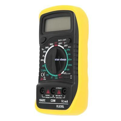 Electrical Digital Multimeter LCD Voltmeter Volt OHM Tester AC DC Multi Meter