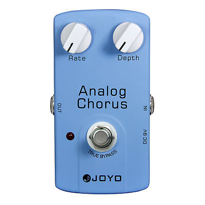 JOYO Analog Chorus Electric Guitar Effect Pedal True Bypass Depth Control JF-37