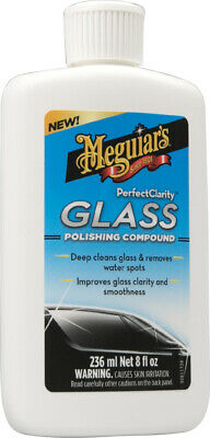 Meguiar's G8408EU Perfect Clarity Glass Polishing Compound, Glastiefenreiniger