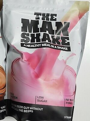 Man Shake Weight Loss Meal in a Shake