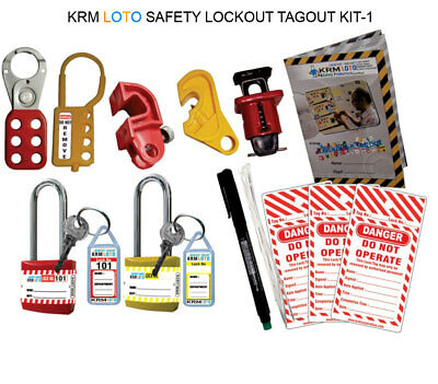 Krm Loto - Safety Lockout Tagout Kit 1