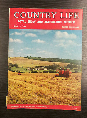 Country Life Magazine: Royal Show & Agriculture Edition, June 30th 1966