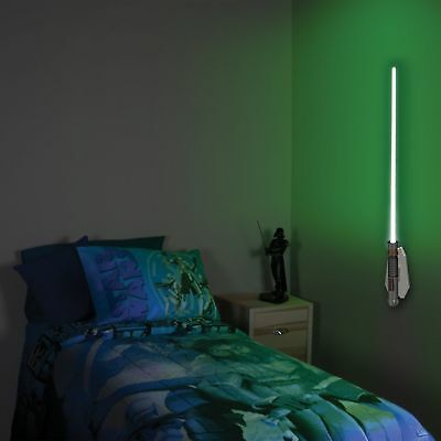 Disney Star Wars Science Toy Luke Lightsaber Room Light Kid Baby Nursery Lamp