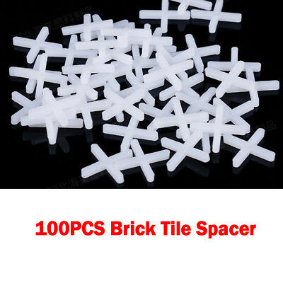 100PCS Brick Stone Slips Flooring Tiles Tools Spacers Props 1mm/3mm/5mm/10mm