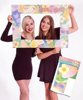 Baby Shower Card Photo Frame Selfie 80 x 60cm Party Booth Prop Supplies