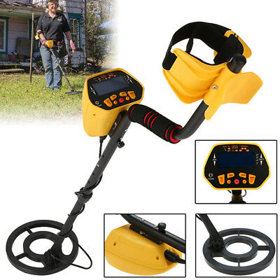 Metal Detector Underground Gold Treasure Hunter Digger Search Finder LCD Display