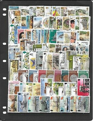 Gb S172 Regional Channel Isles Mix Of Stamps