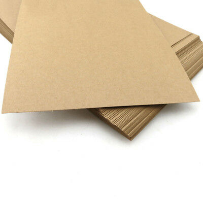 A4 Kraft Paper Kraft Card Brown 210x300x0.3mm For Craft Art Hobbies Handmade DIY