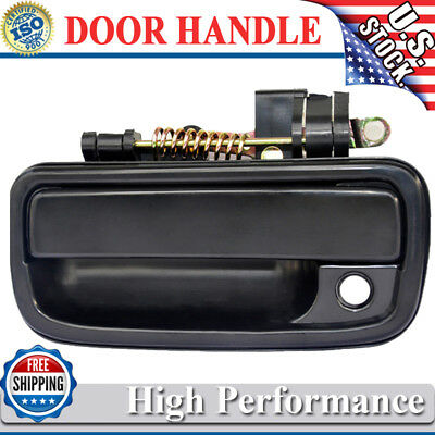 For 95-04 Tacoma Pickup Truck Outside Outer Exterior Black Door Handle Driver LH