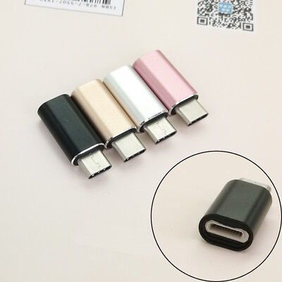 Lightning to Type-C 3.1 Converter Adapter Connector For Samsung S8 Charger US