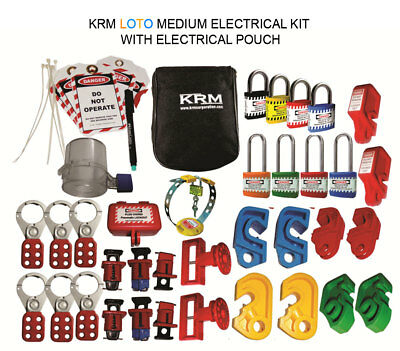 Krm Loto - Medium Electrical Kit With Electrical Pouch