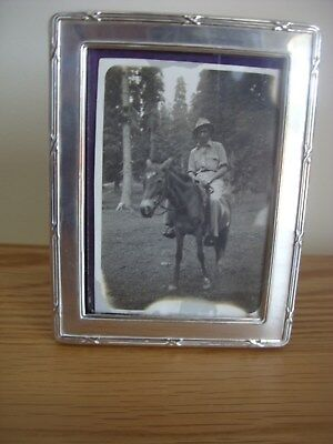 A Solid Silver Photograph Frame Assayed London 1956