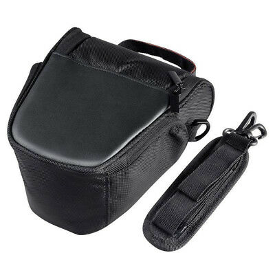 UK Triangle Camera Bag Waterproof Shoulder Case For Canon Sony Nikon DSLR EOS