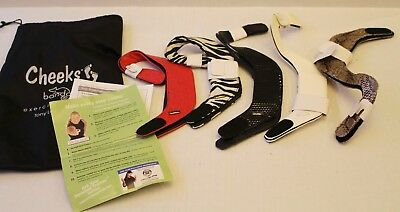 Cheeks Bandals New Set of 5 Excersice Straps Size 9 - Tony Little Designs