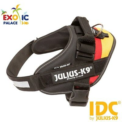 Julius-K9 Idc Powerharness Bandiera Germania Flag Pettorina Per Cane In Nylon