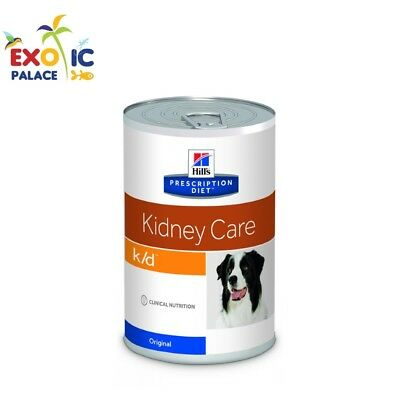 HILL'S KIDNEY CARE K/D CANINE 370gr MANGIME CIBO UMIDO ALIMENTO PER CANE RENALE