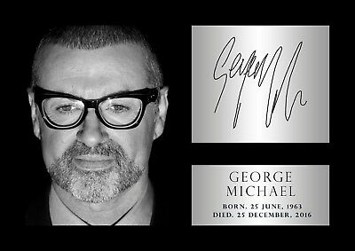 BUY 2 GET ANY 2 FREE GEORGE MICHAEL POSTER DD12 PHOTO PICTURE PRINT A4 A3 SIZE