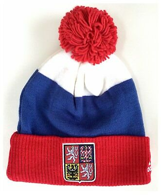 Czech Republic World Cup Of Ice Hockey Adidas Knit Hat