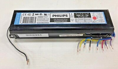 2pcs PHILIPS Xitanium 150W Programmable Dimmable LED Driver 929000705103
