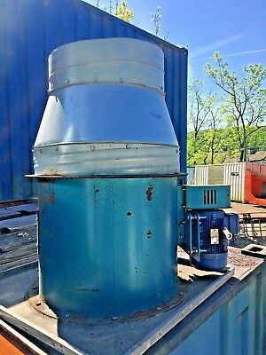 """Large industrial Fan 30"""" Diameter 3 KW 3 Phase 2 Available WEST YORKSHIRE."""