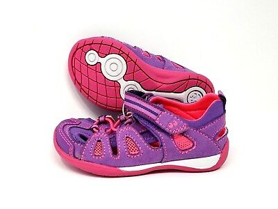 Surprize by Stride Rite Toddler Girls' Purple & Pink Kora Sandals NEW