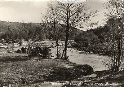 MEETING OF THE WATERS VALE OF AVOCA CO WICKLOW IRELAND RP POSTCARD by VALENTINES