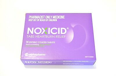 Noxicid 20mg (SAME AS NEXIUM 20mg) Plus *Free Gift*