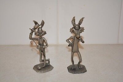 Warner Bros Warner Brothers Looney Tunes Pewter Figurines Howard Eldon