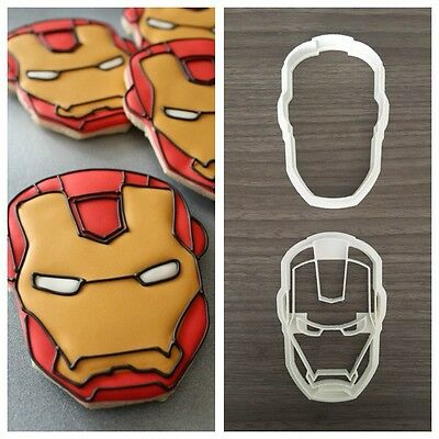 Formine Avengers Iron Man Formina Biscotti E Pdz Cookie Cutter 8 Cm