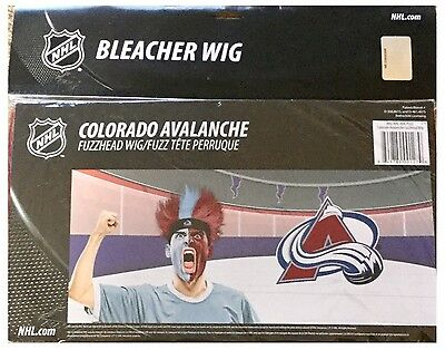 Colorado Avalanche NHL Ice Hockey Global Series 2017 Stockholm Fan Spirit Wig