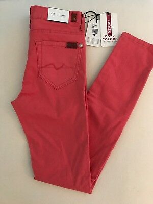7 Seven For All Mankind The Skinny Girls Size 12 NWT