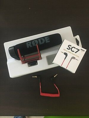 RODE VideoMic Go Microphone + Trs To Trrs Patch Cable For iPhone