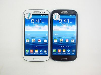 Lot of 2 Samsung Galaxy S3 R530X Unknown Carrier Check IMEI Grade B 5-482