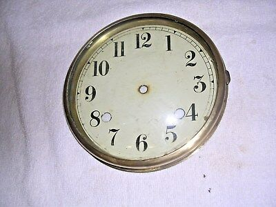 Clock  Parts ,  Brass   Bezel  With    Face