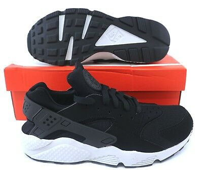 size 40 940b9 50e34 Nike Air Huarache Men s Black   Black Gym Running Trainers Sneakers UK Size  ...