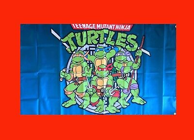LARGE Ninja Turtles TMNT Video Game Banner Flag Poster