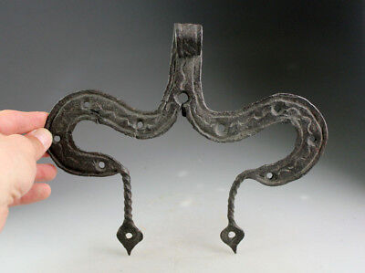 *sc*rare And Impressive Iron Medieval / Renaissance Gate Fitting!
