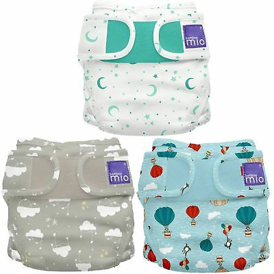 Bambino Mio REUSABLE MIOSOFT NAPPY COVER Size 1 Diaper Cover Baby/Toddler BNIP